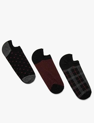 Koton 3'lü Çorap Siyah